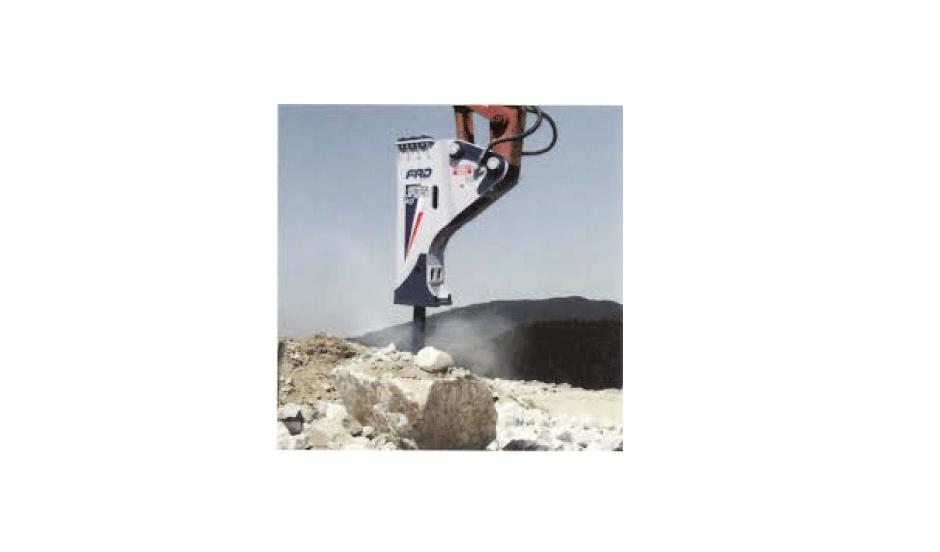 超低騒音油圧ブレーカ